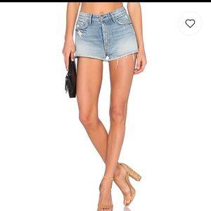 Grlfrnd Cindy High Rise High Waisted Jean Shorts